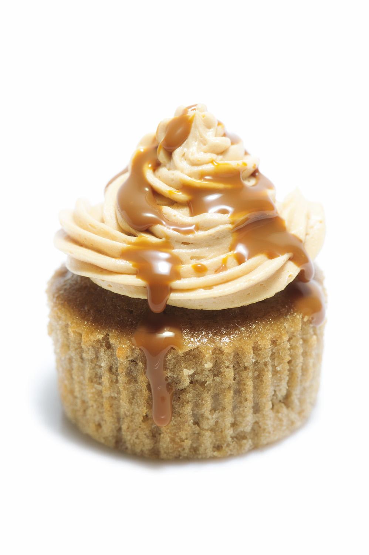 Cupcake de banoffe (plátano y dulce de leche)